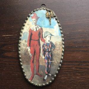 Jester Razor oval iron metral angel 👼 mirror